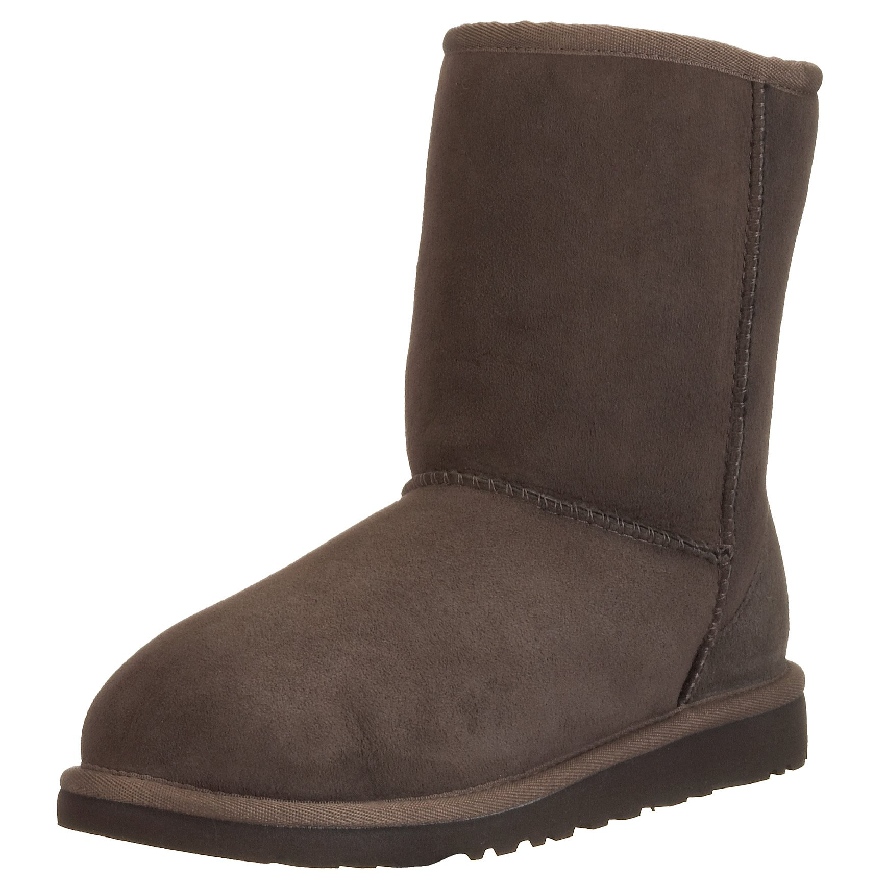 UGG Australia Girls' Classic Short Sheepskin Fashion Boot Chocolate 6 M US by UGG