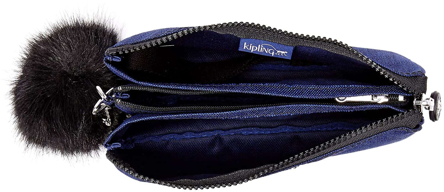 c2ed15c114 Kipling Creativity XL Solid Pouch, Cotton Indigo AC8564