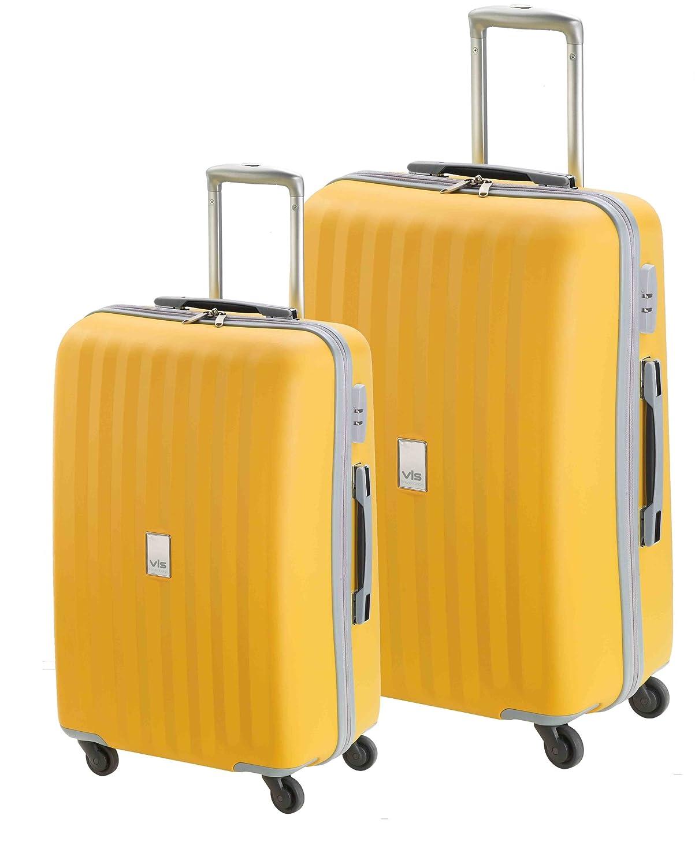 Set 2 maletas modelo Spider de Valisa (Amarillo): Amazon.es: Zapatos y complementos