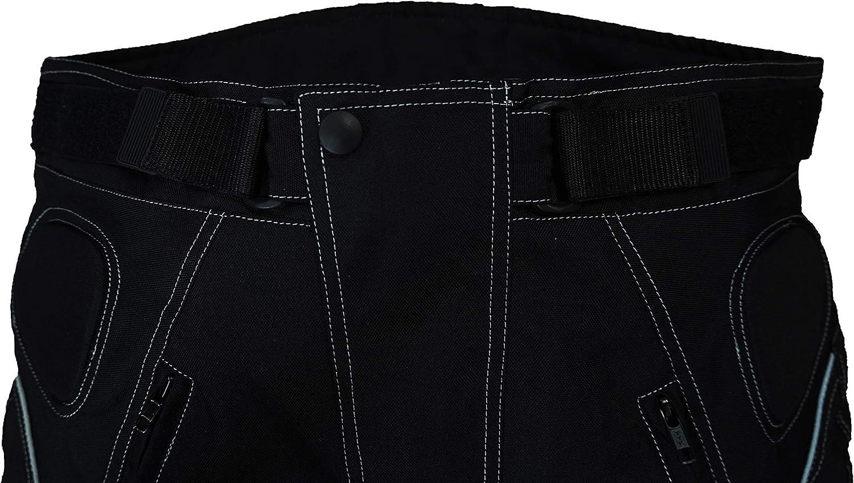 newfacelook Mens Motorcycle Trousers Waterproof Armoured Motorbike Pants Thermal Biker Trousers