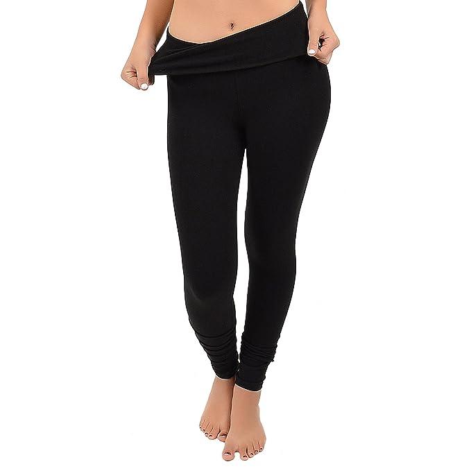 Amazon.com: Stretch Is Comfort - Leggings de algodón ...