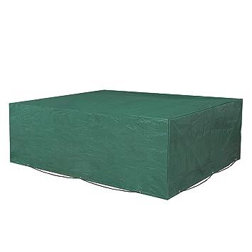 SONGMICS Schutzhülle Für Gartenmöbel,250 X 200 X 80 Cm, Abdeckeplane Für  Tisch Und