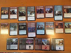 Elite Pirate Deck - Modern Legal - Custom Built - Magic The Gathering - Grixis - MTG - 60 Card