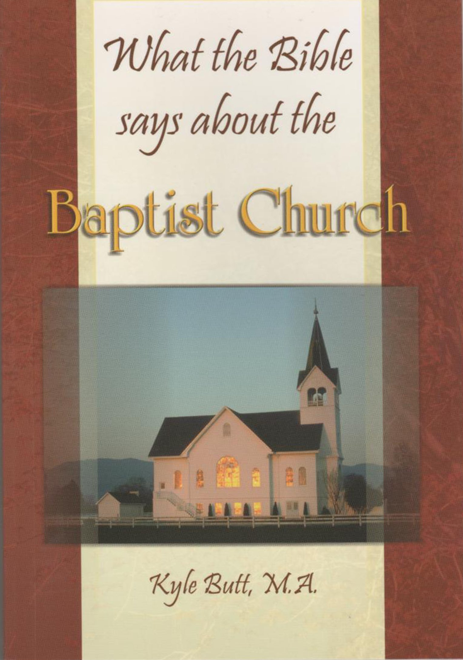 What the Bible says about the Baptist Church pdf epub