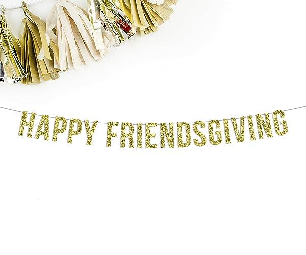Friendsgiving sign