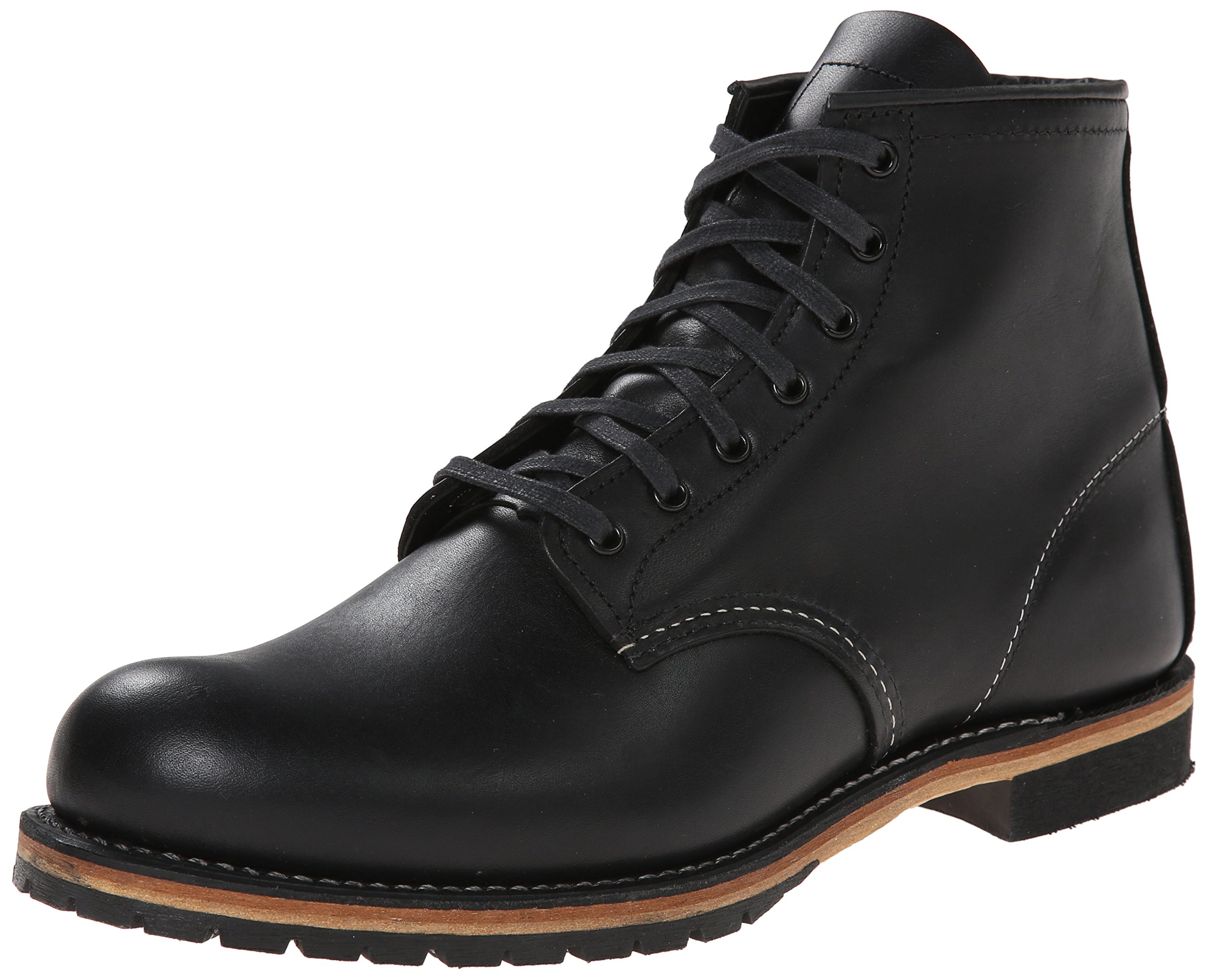 Red Wing Heritage Men's 6-Inch Beckman Round Toe Boot,Black Featherstone,11 D US by Red Wing