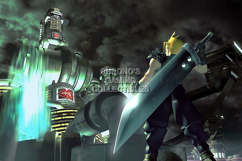 Amazon Com Final Fantasy Cgc Huge Poster Vii Cloud Vs Sephiroth