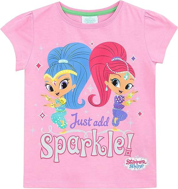 Licensed Product Shimmer and Shine Girls Short Sleeve Tshirt T Shirt