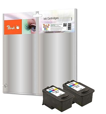 Peach doble Pack cabezales de impresión color compatible con Canon ...