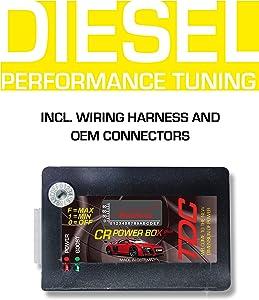 PowerBox CRD2 Diesel Performance Module for Alfa Romeo 159 2.0 JTDM 16V 100 KW / 136 PS / 350 NM