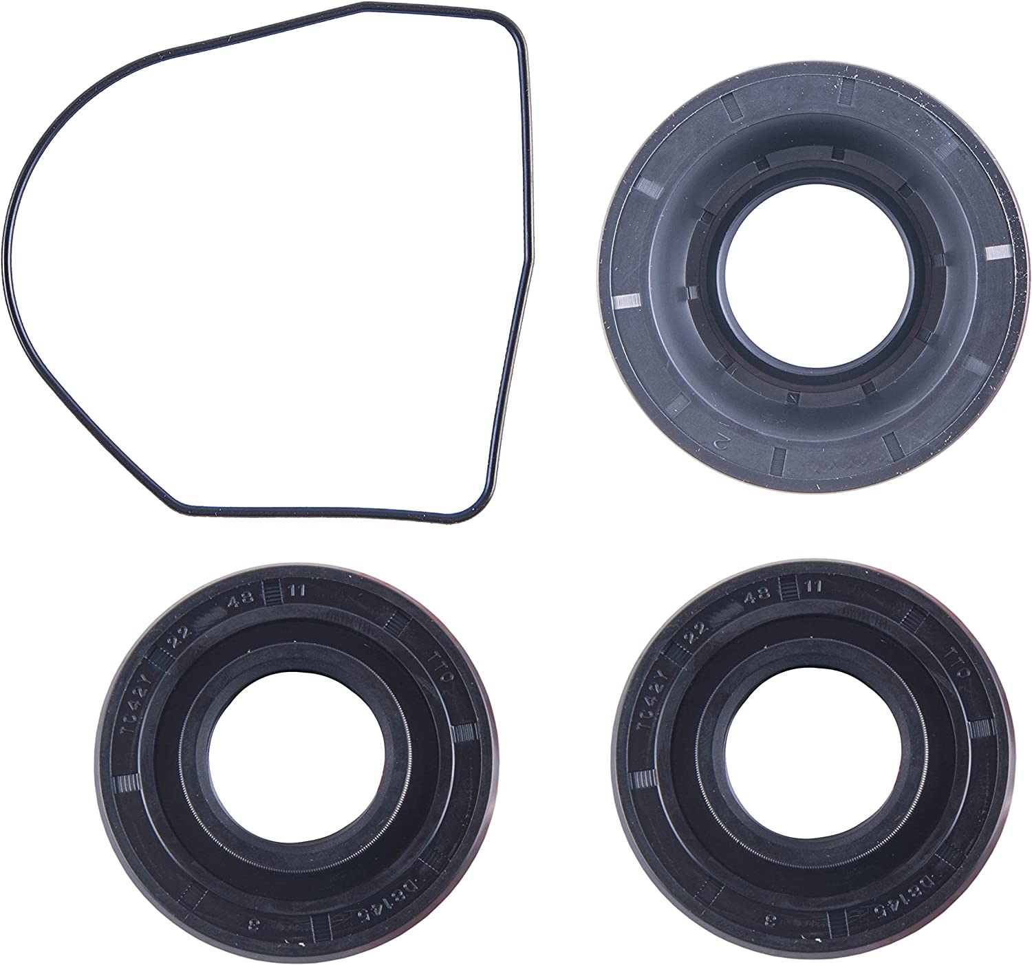 East Lake Axle Front differential bearing /& seal kit compatible with Honda TRX 420 2007 2008 2009 2010 2011 2012 2013 2014