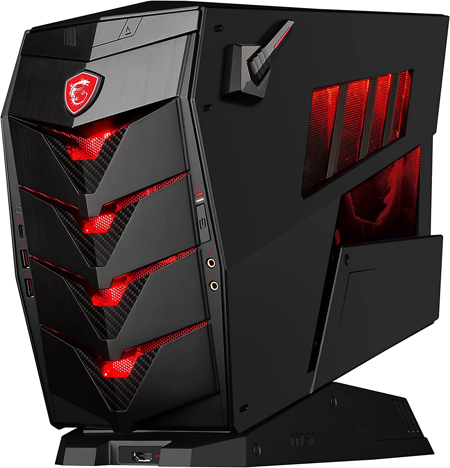 MSI Aegis 3 8RC-050EU - Ordenador de sobremesa (Intel Core i7-8700 , 16GB RAM + 16GB Optane, 1TB HDD + 128GB SSD, NVIDIA GeForce GTX 1060 de 6GB, Windows 10 Home) negro