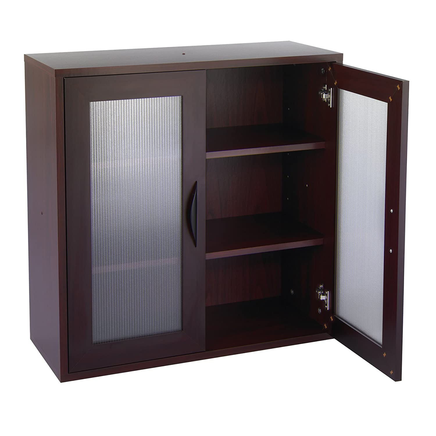 Amazon.com: Safco Products 9443MH Apres Modular Storage Tall Cabinet, 2  Door, Mahogany: Kitchen & Dining - Amazon.com: Safco Products 9443MH Apres Modular Storage Tall