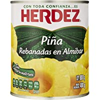 Herdez, Piña en Rebanadas, 800 gramos