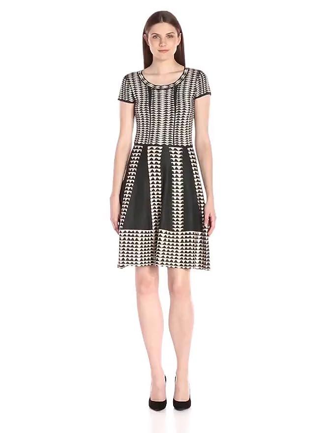 96686d4451 Amazon.com: Taylor Dresses Women's Short Sleeve Sweater Dress: Clothing