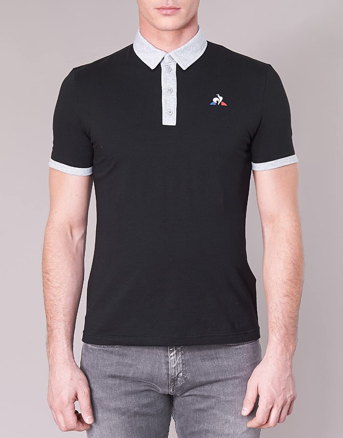 Le Coq Sportif Essentiels Polo SS N°1, Polo - S: Amazon.es: Ropa y ...
