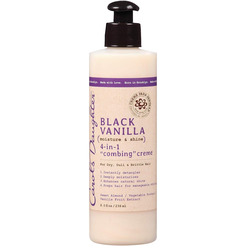 キャロルズドーター Black Vanilla Moisture& Shine 4-in-1 Combing Creme (For Dry, Dull or Brittle Hair) 236ml B01DPERR8A