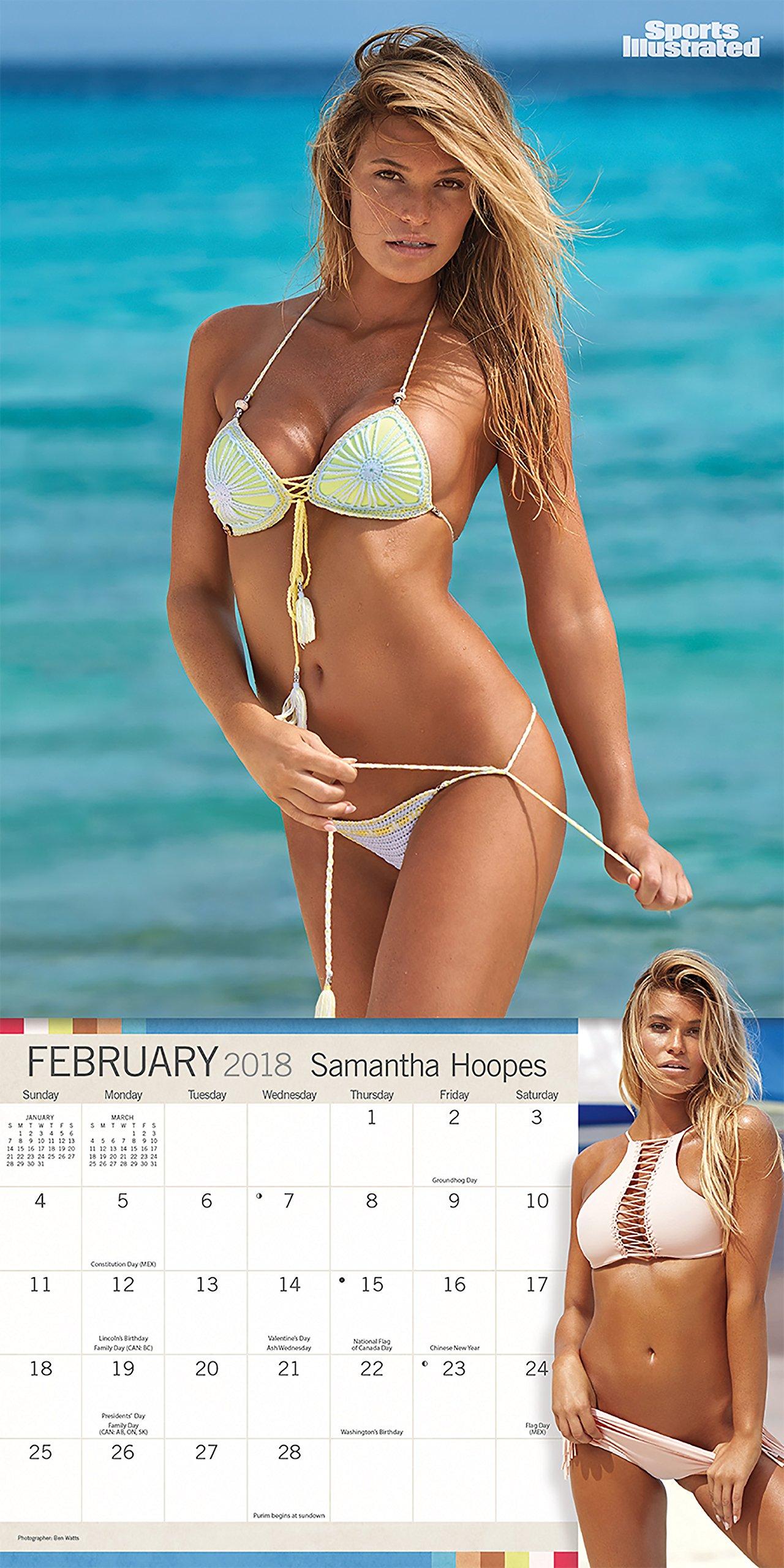 f50afd547bc Sports Illustrated Swimsuit 2018 Mini Wall Calendar: Trends International:  9781438851679: Amazon.com: Books
