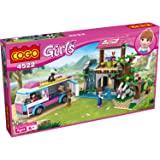 COGO Girls Building Blocks Toys 430 Pieces Christmas Birthday Gifts CG4522