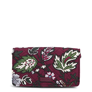 680513cfce1 Vera Bradley Iconic RFID All Together Crossbody, Signature Cotton, One Size
