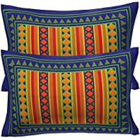 RajasthaniKart 100% Cotton Pillow Cover (Set of 2)