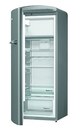 Kühlschrank retro gorenje  Gorenje ORB 153 X-L Kühlschrank mit Gefrierfach / A+++ / Höhe 154 ...