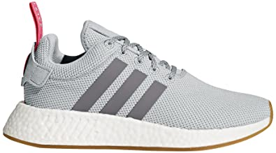 97c7cc4b7d55 adidas Originals Women s NMD R2 W Sneaker Two Grey Three Shock Pink ...