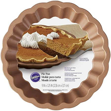 Wilton Decorative Crust Pie Tin Copper  sc 1 st  Amazon UK & Wilton Decorative Crust Pie Tin Copper: Amazon.co.uk: Kitchen \u0026 Home