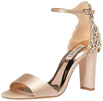6be8ab5fd53 Amazon.com  Badgley Mischka Women s Seina Heeled Sandal  Shoes