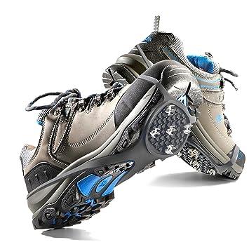 20ee4c80c3 Crampon Antidérapent, Mture 1 Paire Walk Sur-chaussure Antidérapante  Crampons Anti-verglas /