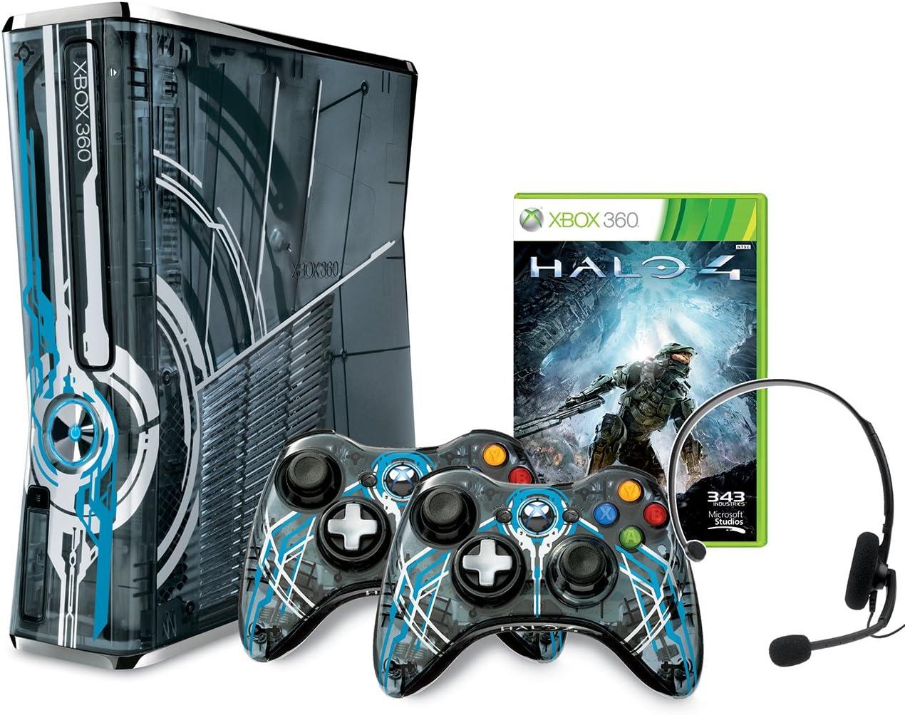 Amazon.com: Xbox 360 Limited Edition Halo 4 Bundle: Video Games