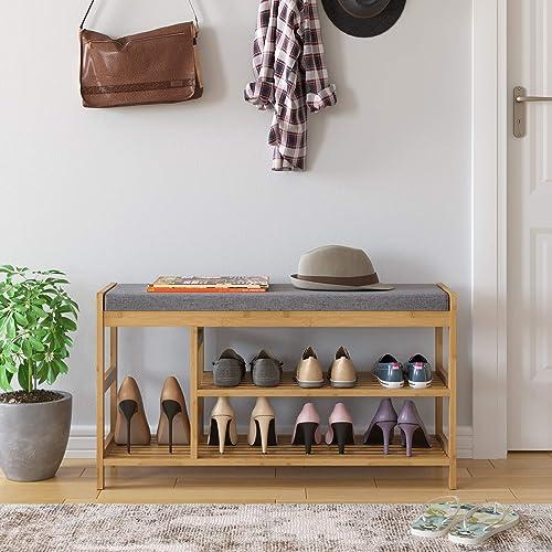 HOMECHO Shoe Rack Bench
