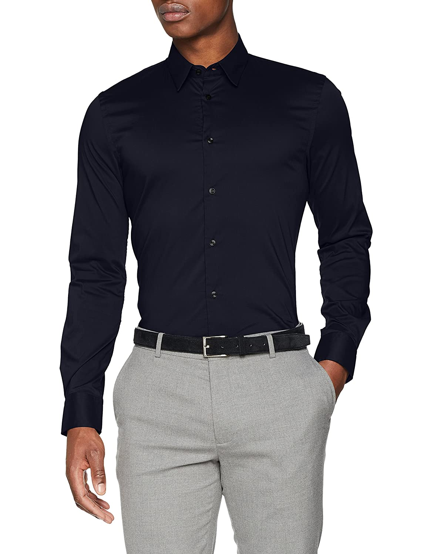 TALLA Small (Talla del fabricante: 43). Sisley Shirt Camisa para Hombre
