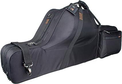 Protec PB311CT contorneada Saxofón Barítono Pro Pac Carcasa - Negro: Amazon.es: Instrumentos musicales