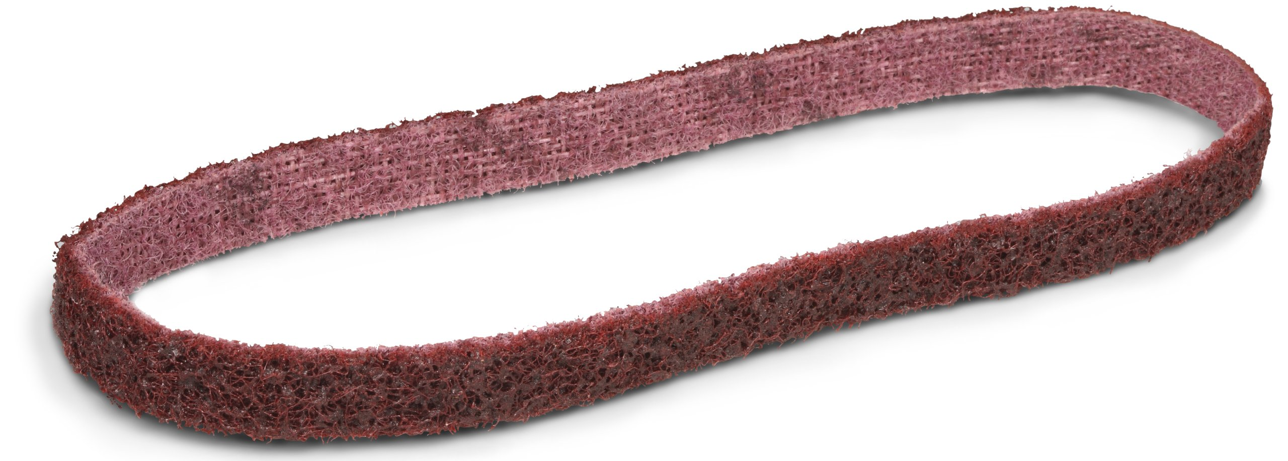 Scotch-Brite(TM) Surface Conditioning Belt, 1/2 Width x 18 Length, Medium, Maroon (Pack of 20)