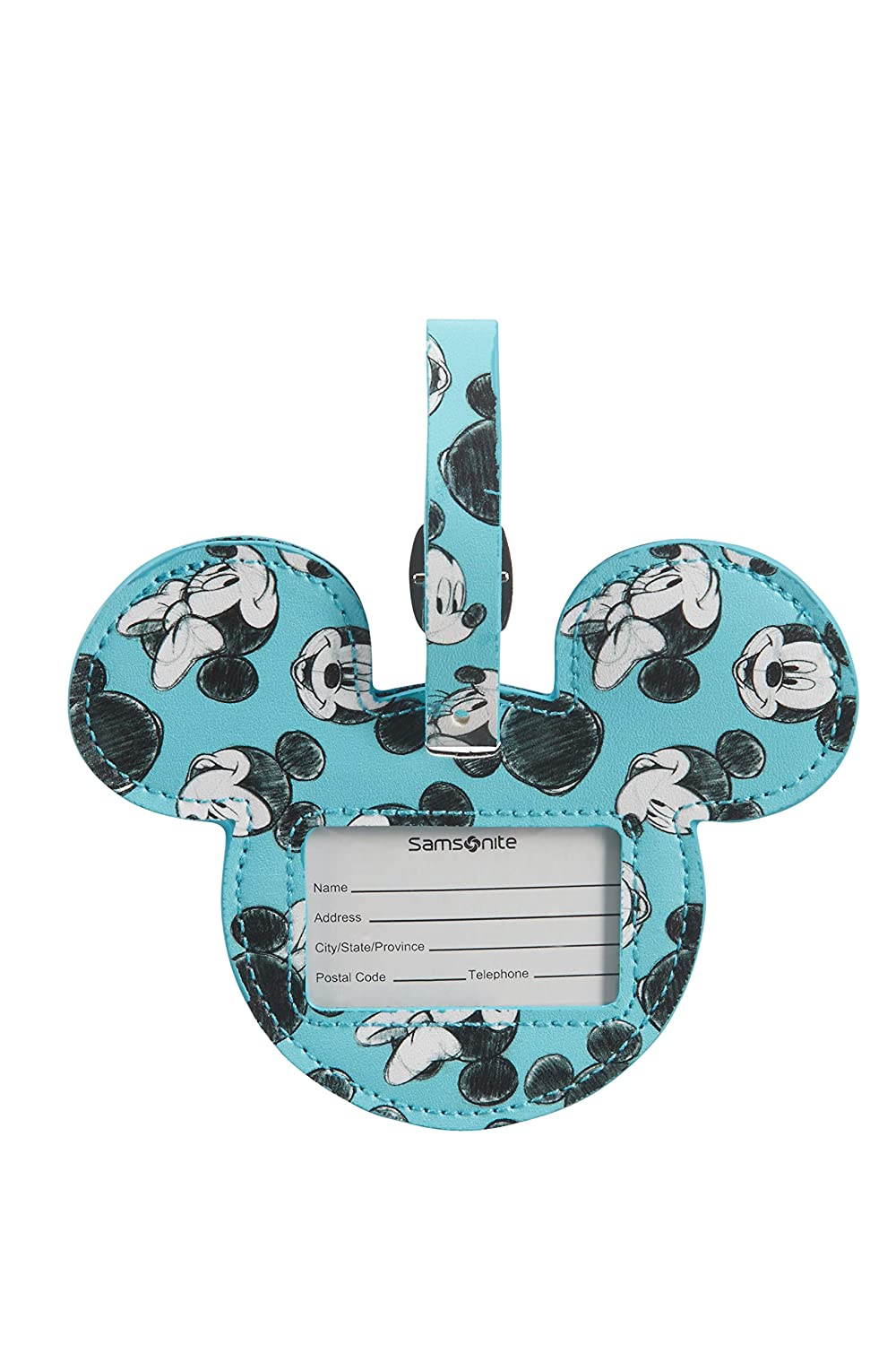 Samsonite Global Ta Disney Luggage Tag 14cm Mickey//Minnie Blue - 122310//7923 Blue