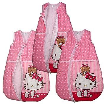 Saco de dormir Hello Kitty Baby de saco de dormir Saco de dormir infantil Saco de repetición Color Rosa rosa rosa Talla:68/74: Amazon.es: Bebé
