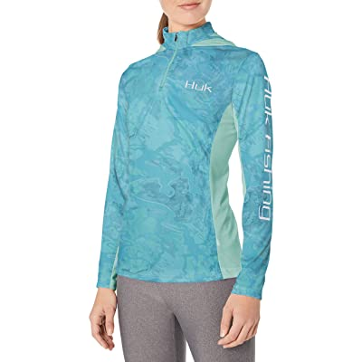 Amazon.com : HUK W Icon X Camo Hoodie Long Sleeve : Clothing