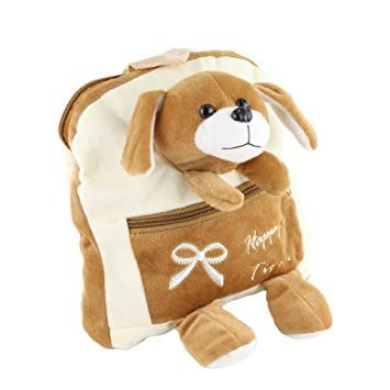 WEWILL Brand Plush Stuffed Animal Doll Backpack Adorable School Shoulder  Bags for Children 1049494189e05
