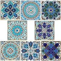20 Stks Peel en Stick Tegels Backsplash, Zelfklevende Waterdichte Decoratieve Tegel Stickers, Keuken Badkamer Meubels…