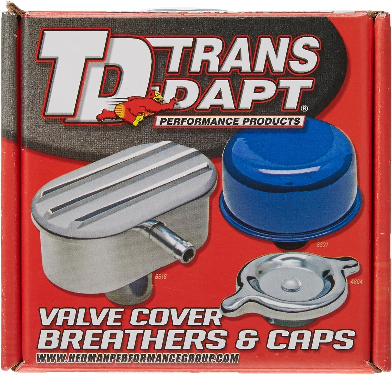 Trans-Dapt 9170 Chrome Push-In Oil Cap