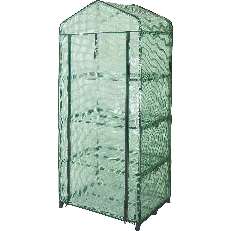Kotulas 4-Tier Mini Greenhouse 27in.W x 19in.D x 63in.H