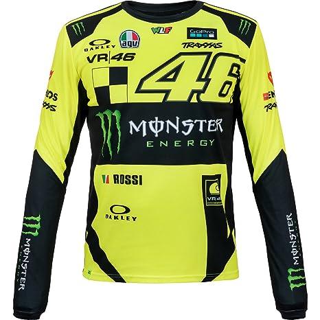 Valentino Rossi Vr46 Moto Gp Monster Replica Long Sleeve T Shirt