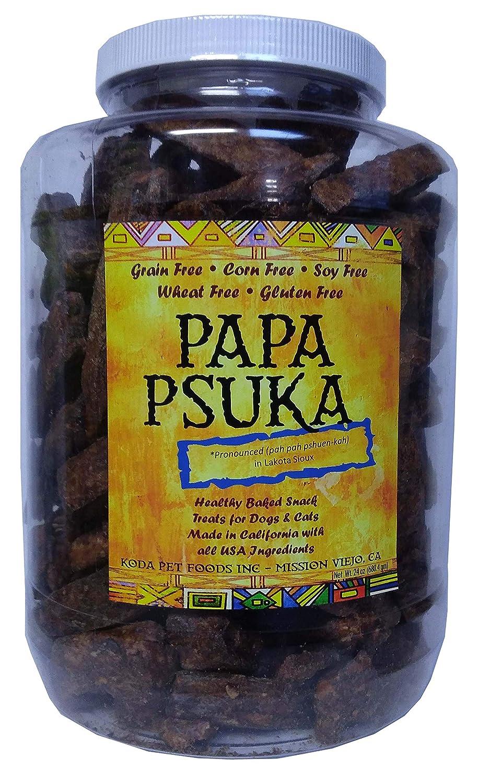 Koda Pet Papa Psuka Natural Beef Dog Treats 24oz