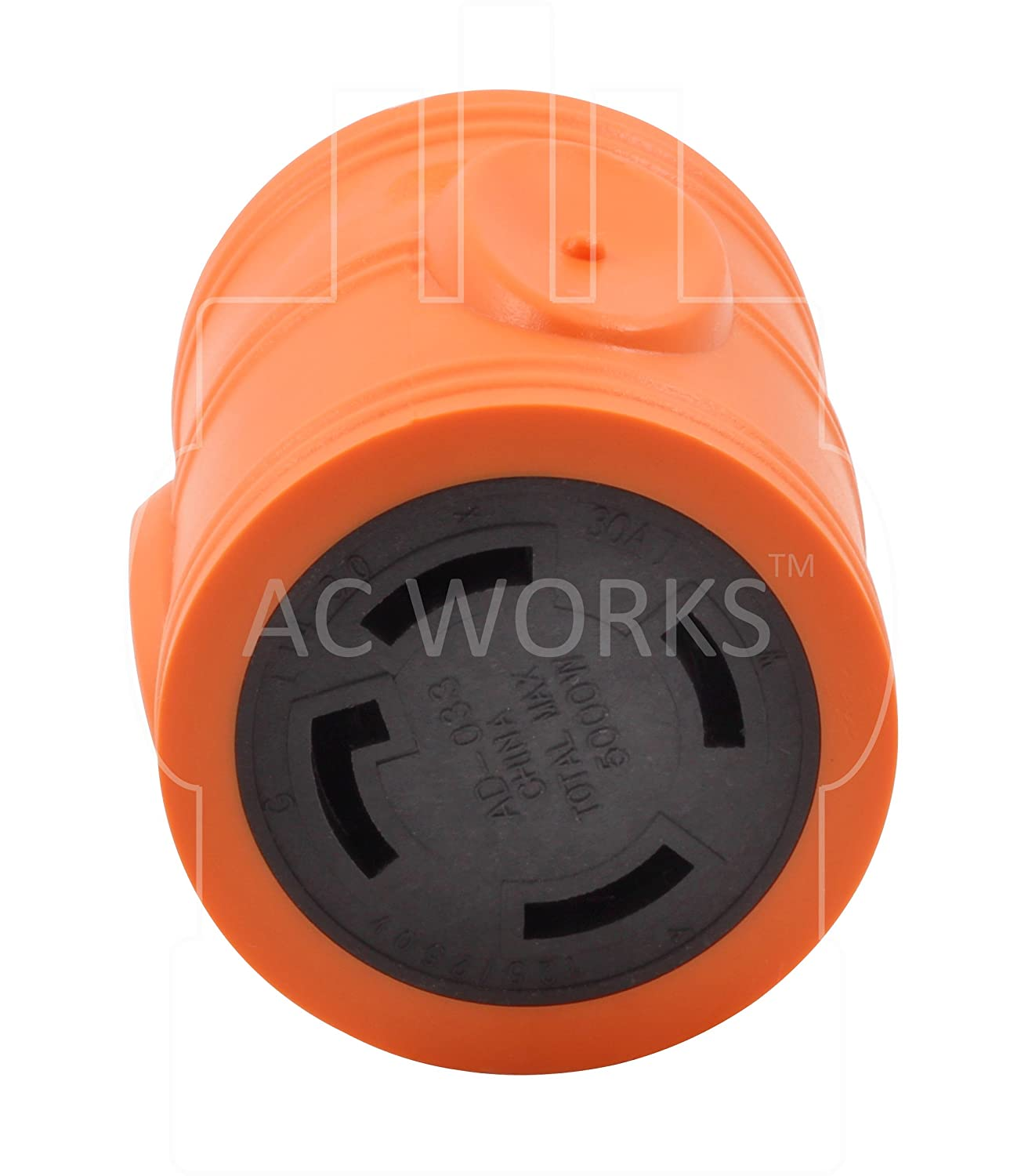 Ac Works Generator To Transfer Switch L14 30 Inlet Box Adapter Reliance Controls Pb30 L1430 Amp Power Cord 15amp Household Compact Tools Home Improvement