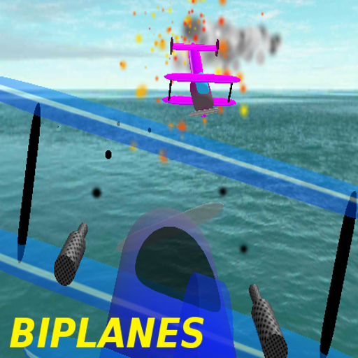 Biplanes, Dog fight