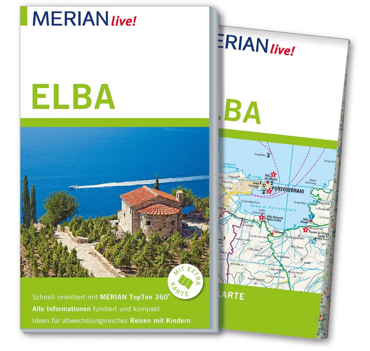Elba Karte.Merian Live Reiseführer Elba Mit Extra Karte Zum Herausnehmen