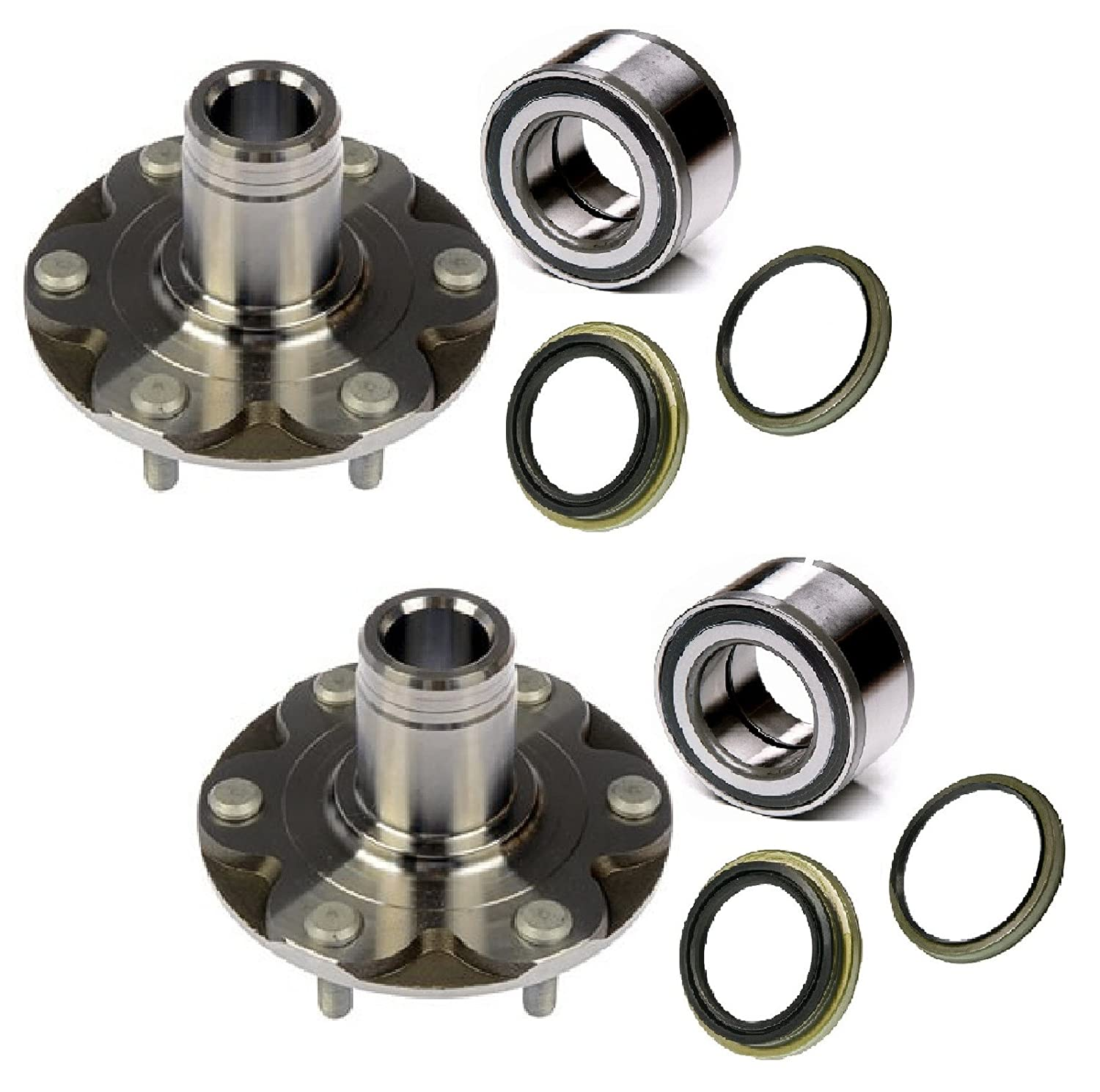 Amazon.com: PAIR Front Left And Right Wheel Hub And Bearing with Seal fit  2000 2001 2002 2003 2004 2005 2006 TOYOTA TUNDRA (4WD.