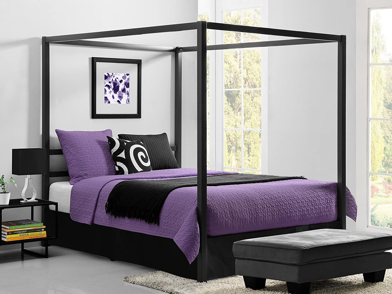 Wonderful Canopy Bed Frame Decorating Ideas