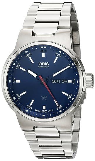 Oris Williams F1 de los hombres de Swiss automático reloj de acero inoxidable, color